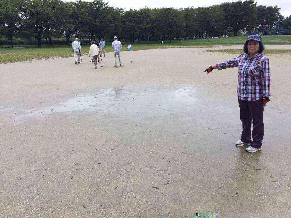 富田公園の水たまり3