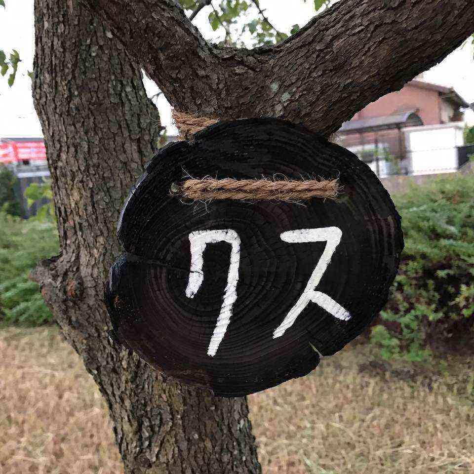 富田公園の木の名札3