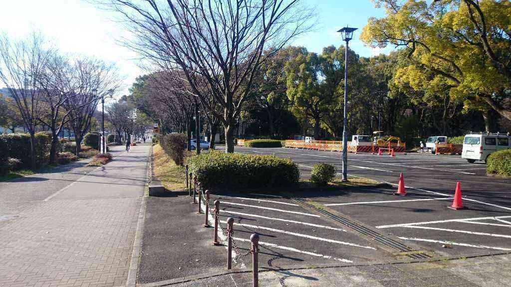 提案対象地区。向かいには愛知学院大学名城キャンパスがあります。