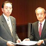 20150223前川区長と大田大臣