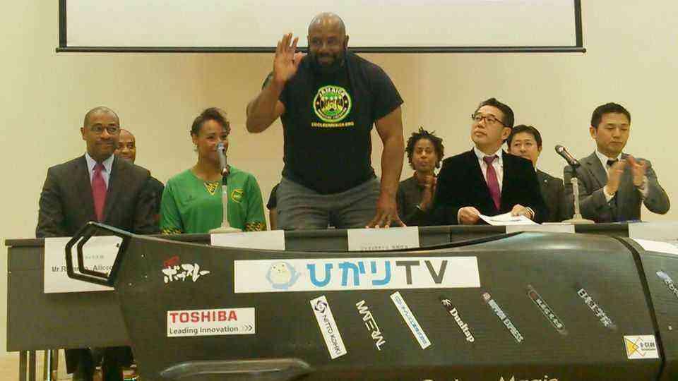 ジャマイカチーム 技術担当 ウェイン・トーマス氏 Mr.Wayne Thomas