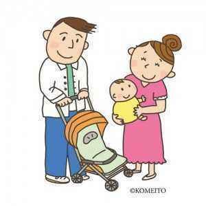 00739夫婦と赤ちゃん