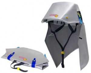 HP用防災ヘルメット