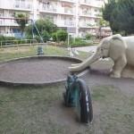 ゾウさん公園砂場改修前原紙