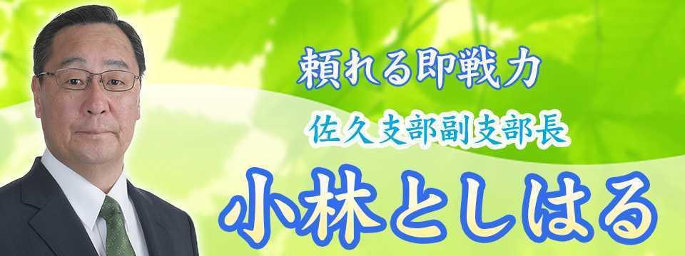 [長野][佐久市]小林としはる2
