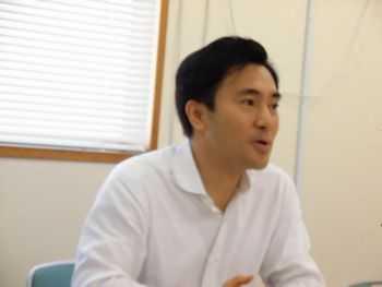 安保法制を熱く語る矢倉参議院議員
