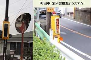 町田市冠水警報表示システム