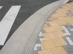 浜松市のユニバーサルデザインブロック