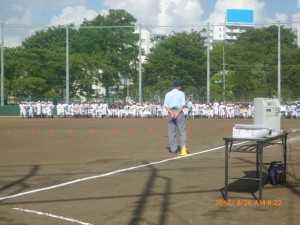 台東区少年野球場