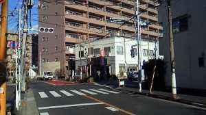 文花2丁目6から11信号2