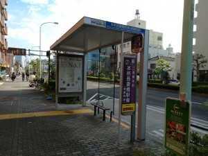 立花一丁目バス停新旧 (2)
