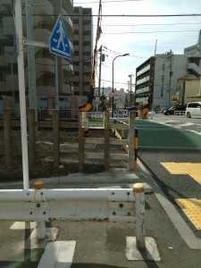 小村井駅の案内板 (1)