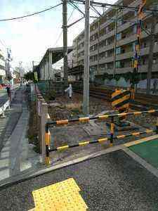 小村井駅の案内板 (2)