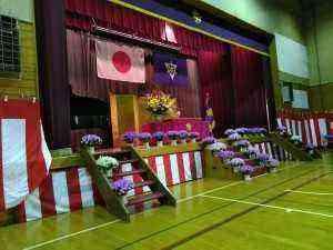 第13回吾立中入学式 (2)