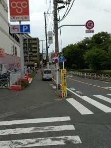 オリンピック前横断歩道 (2)