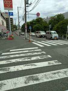 オリンピック前横断歩道 (1)