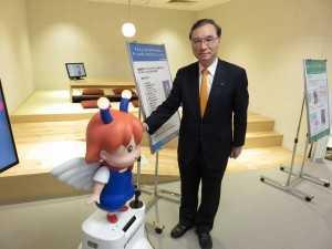 160426 東京都ロボット産業支援プラザ視察2