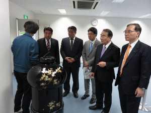 160426 東京都ロボット産業支援プラザ視察