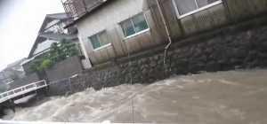 豪雨 真木町