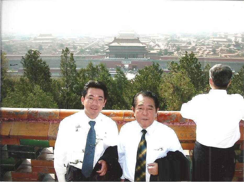 秘書時代 001シラホと中国へ、日中国交30周年_2