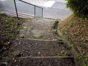 平らな階段で安心