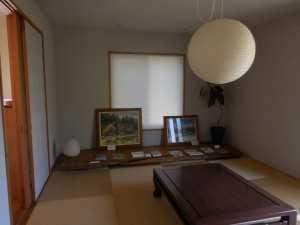 キリガヤスタイルの和室に展示
