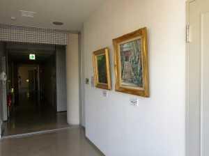 逗子商工会館の二階のエレベーター前