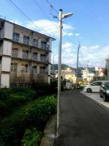 桜山5丁目街灯穴