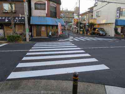 横断歩道を設置