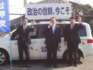 DSC00675青年局街頭演説活動2015.0110