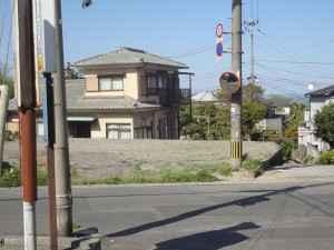 DSC06696竹の内藤原宅上カーブミラー曇りありの為取り替え済完了 (1)