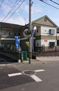 カーブミラー修理(松香台1丁目19番地)