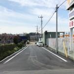 鉄町 北京浜横道路整備20180326工事完成