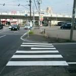 新石川交差点横断歩道 (1)