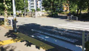 鹿島バス停