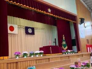 秋葉台小学校入学