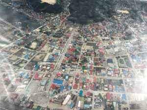 震災前の陸前高田市