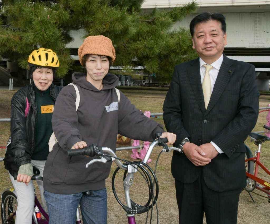 タンデム自転車1