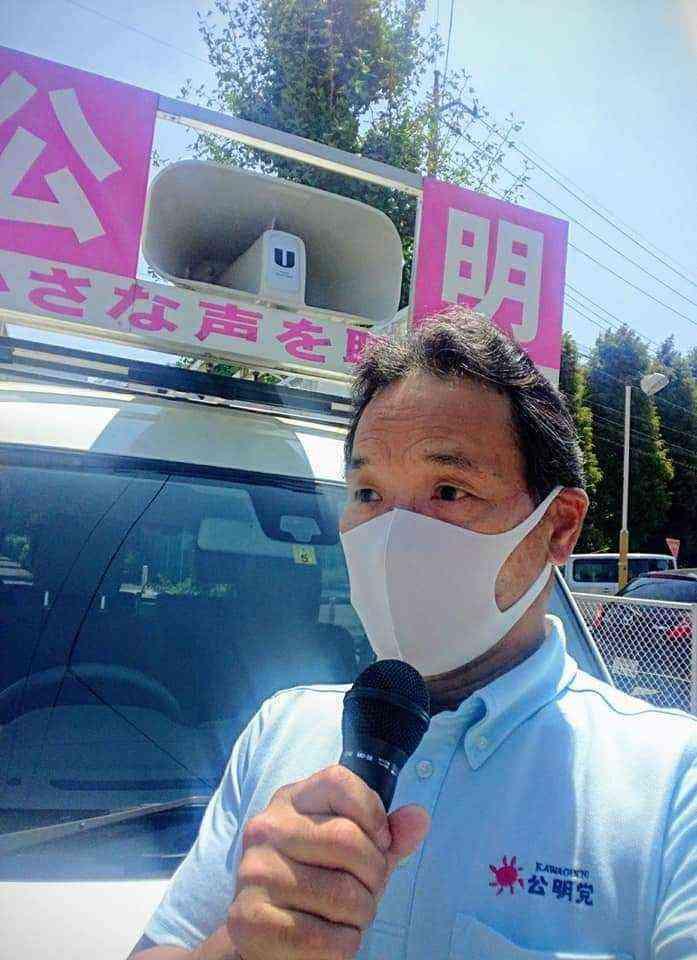 終戦記念日 街頭演説