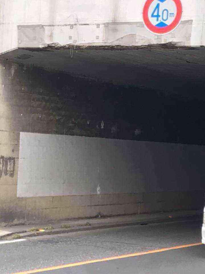 トンネル後