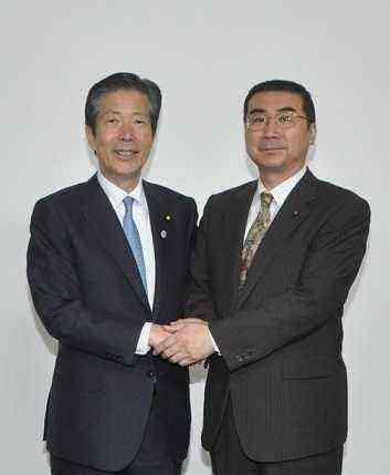 山口代表と武田