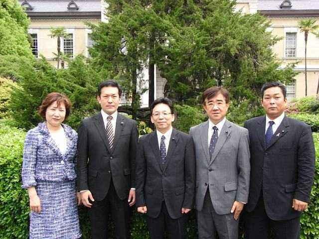 2011年 公明党京都府議団 集合写真