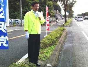 久しぶりの山本博司さんのかん高い声が響きました!