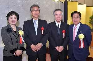 20190110_6 東京都総合健康保険組合協議会と東京都総合組合保健施設振興協会が合同で開いた新年賀詞交歓会