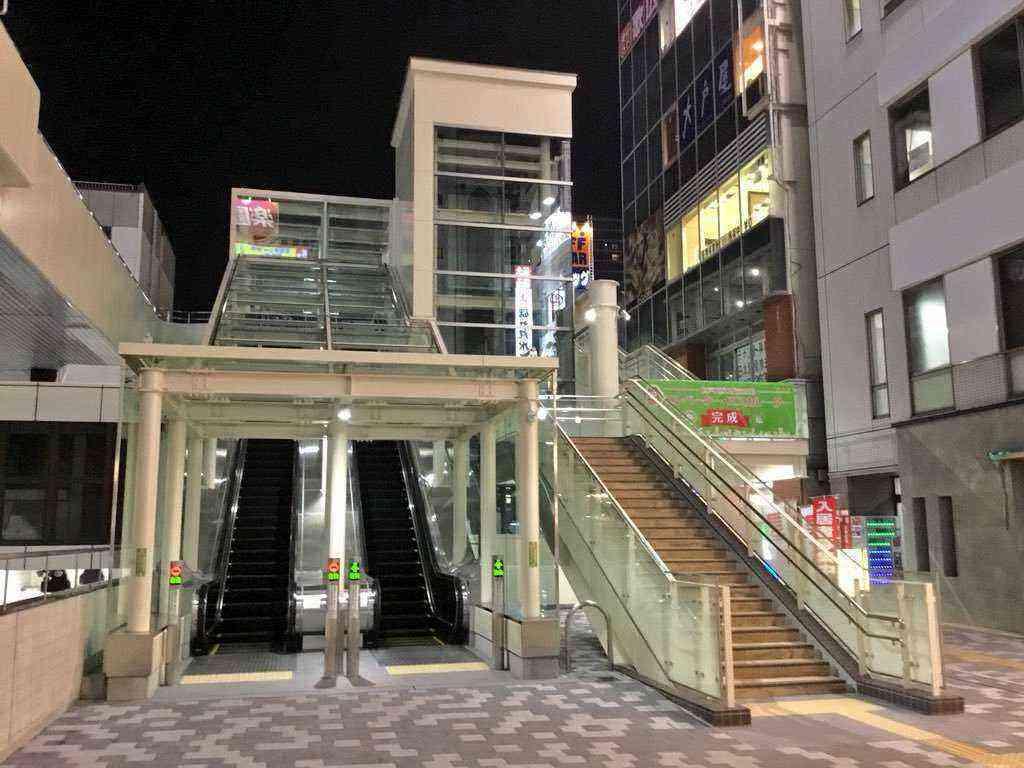 松戸駅バリアフリー