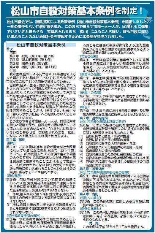 20121004松山市自殺対策基本条例(全文)