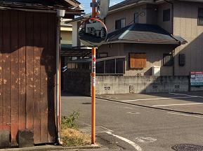 【余戸16号線】【余戸43号線】十字路カラー塗装