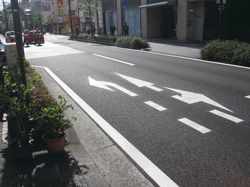 【裁判所前南柳井町線】千舟町3交差点北側②