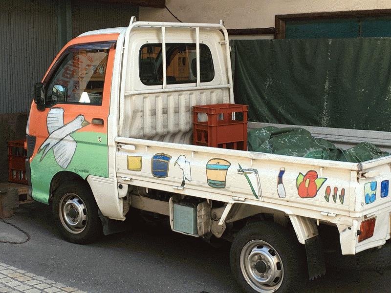 山澤商店軽トラ