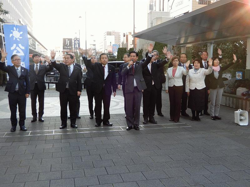 200102新春街頭演説
